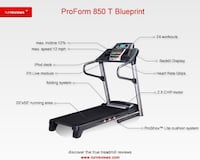 Proform Treadmill  Carrollton