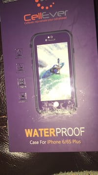 Cell Ever waterproof case for iPhone 6/6s Plus box Athol, 01331