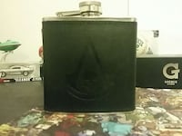 black and stainless steel flask Edmonton, T6T 1R1
