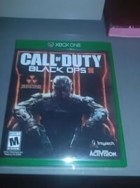 Call of Duty Black Ops 3 Xbox One game case St. George, 84770