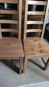 two brown wooden side tables Calgary, T2Z 2X2