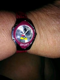 Girls Mickey Mouse Sport Watch Omaha