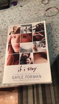 If I Stay by Gayle Forman Victoria, V9A 5B1