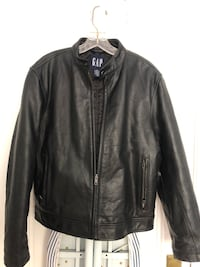 Woman's XS Leather Jacket from the Gap. Smoke free/pet free home. Excellent condition Framingham, 01701