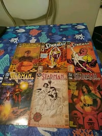 four assorted comic book collection