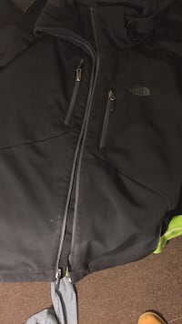 black The North Face zip-up jacket College Park, 20740