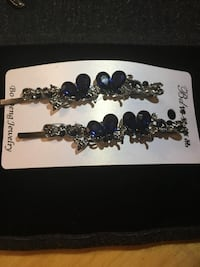 silver-colored and blue gemstone bracelet Arlington, 22203