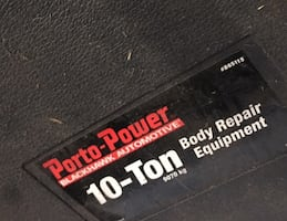 Porto Power - Body Shop Equipment - Tools