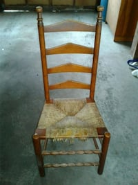Ladder back chair $50 for all four Wind Gap, 18091