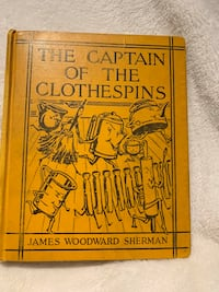 Captain of the Clothespins book