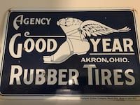 Agency good year rubber tires signage decor Trinity, 34655