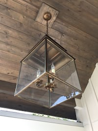 brown uplight pendant lamp