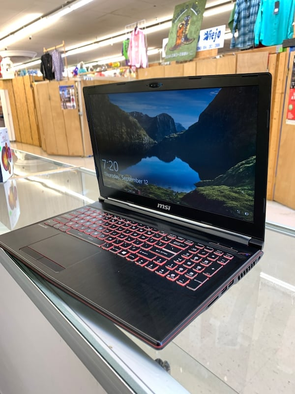 Msi Gaming Laptop  5
