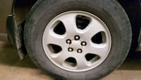 15 in alloy rims with tyres Barrie, L4M 5X4