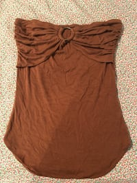 women's brown spaghetti strap top Gaithersburg, 20878