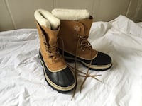 Sorel caribou leather duck boots(NEW)12 wms Alexandria, 22206
