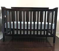 Wooden crib in great condition Toronto, M9C 0A2