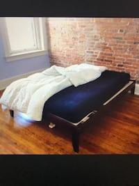 Full Cherry Real Wood Frame Bed, will Deliver ! Annandale