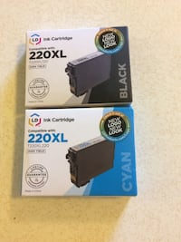 Four brand new ink cartridges  Seattle, 98126