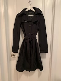 Sisley Black Trench Coat