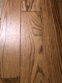 """3-1/4"""" X 3/4"""" Prefinished Red Oak Natural Solid Plank Semi-gloss finis"""