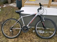black and red hard tail mountain bike Mississauga, L5N 1T8