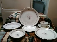 China set serves 12 includes serving dishes Westport, 02790