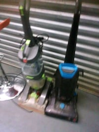 Two carpet cleaning machines cleaners Hoover Bisse Hyattsville, 20784