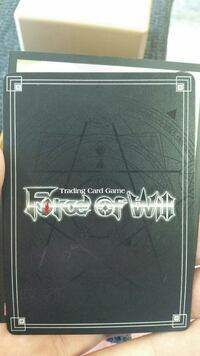 "Lot de carte ""Force of Will"""