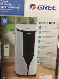 12000 BTU portable air conditioner. Sale Prices from $300 (with Full Accessories )No Tax! Toronto, M1S 3P8