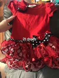 red and black Minnie Mouse dress Dayton, 45377