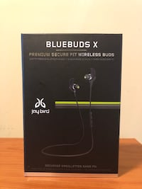 Jaybird Bluebuds X Wireless Bluetooth Earbuds
