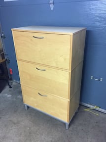 3 Drawer Hanging Side by Side Filing Cabinet