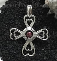 Sterling Silver Pearl Cage Pendant - Cross Abbotsford, V2S 2N9