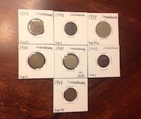Old coins from Luxembourg 31 km