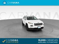 2016 *Jeep* *Cherokee* High Altitude Sport Utility 4D suv WHITE Downey