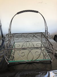 Southern Living wrought iron basket Powell, 43065
