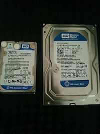 2x WD blue Hdd 250gb Potomac, 20854