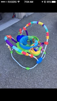 baby's multicolored jumperoo Lincoln, L0R