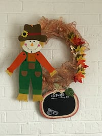 Fall wreath Montgomery Village
