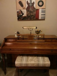 Cable piano upright