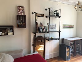 Industrial Pipe Shelves - Bookcase Shelves