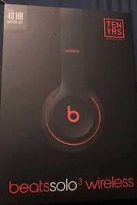 Limited Edition black and red Beats solo3 wireless with box