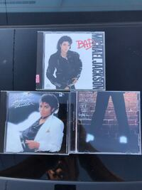 Excellent condition  Michael Jackson CD's  total of 3 for $12 Gahanna, 43230