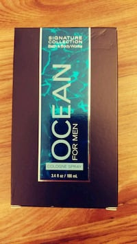 Ocean men cologne full size and new Alexandria, 22304