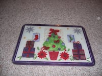 Christmas cutting board. NORRISTOWN