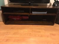 black and brown wooden TV stand 3727 km
