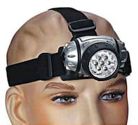 New 7 LED head lamp New Westminster
