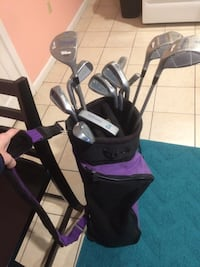 Women's wilson golf set, bag included with comfy strap! Washington, 20003