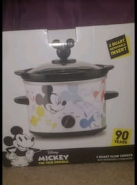 Mickey Mouse 90th Anniversary Slow Cooker - 2 Quar Silver Spring, 20910